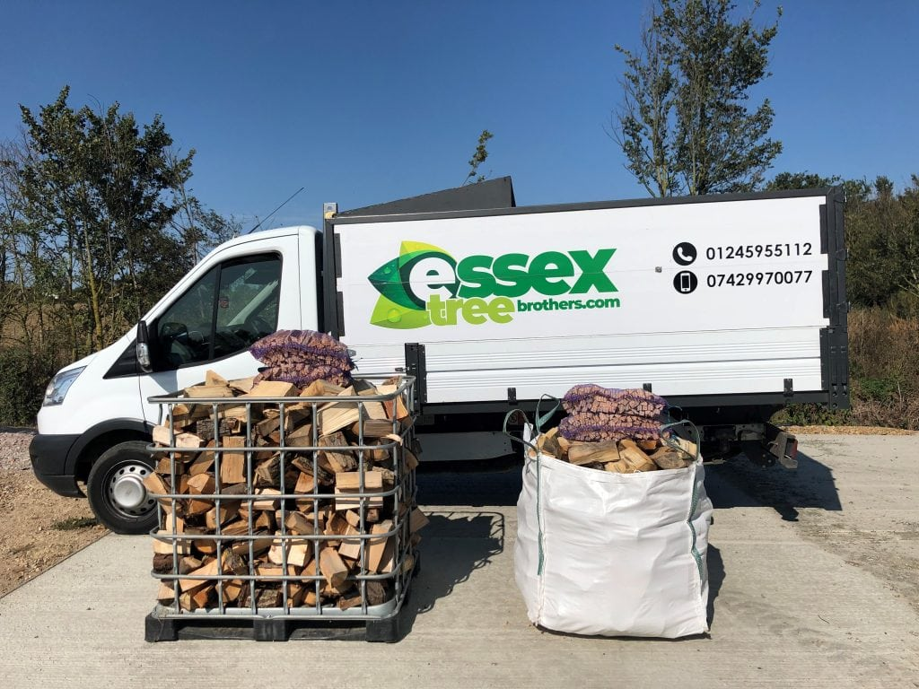 Truck and Logs